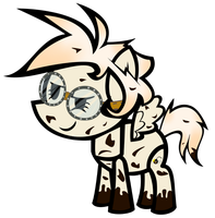 Paper Pony Sam by MLP-Scribbles