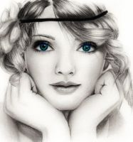 Taylor Swift by TheSixBPencil