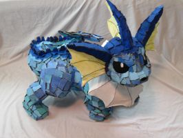 Recycled Vaporeon.2 by Citrusleningrad