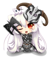ESO Dragron Knight Chibi by Shaun578