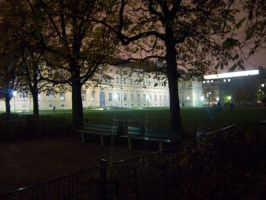 Alte Pinakothek at Night by soffl