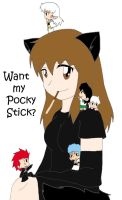 MAMC- Pocky Stick by K-chanLovesAnimeXD
