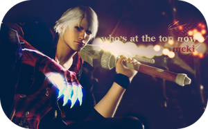 Devil May Cry Banner by CaliforniaBabeWV