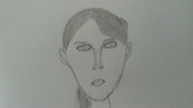 My first attempt at a girl's face. by Goodguy1965