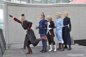 APH:Let's go by fullmetalflower