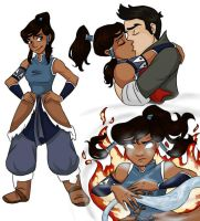 Legend of Korra by SilverOceans