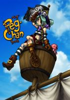 PegChan in the Crow's Nest by Niki-UK