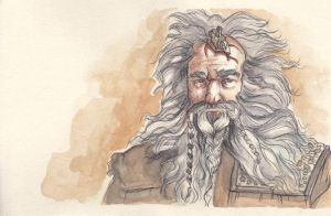 Bifur, Cousin to Bofur and Bombur by citrus-slice