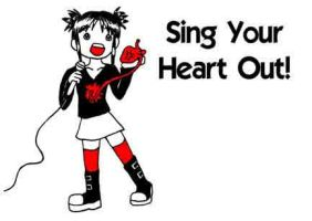 GNC - Sing Your Heart Out by Tsubaki-chan