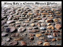 Along Lifes Cobble-Stoned Path by Silver-Dew-Drop