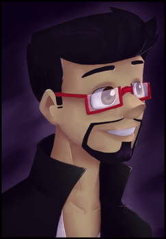 Mianite Month: Day 8 -  CaptainSparklez by Oszvalt100