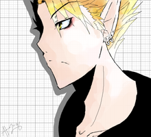 Hiruma by grey-azul
