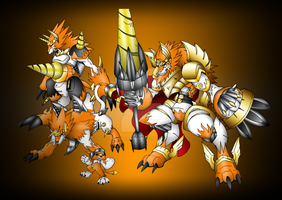 Dorirumon EVOLUTIONS by neoarchangemon