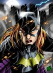 Unbreakable Batgirl by Huang-Jun