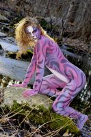 Astral Aggression by BareBeautyBodypaint