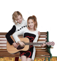 Taeyeon and Sunny SNSD png by ShinMing