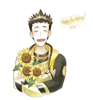 sunflowers by Quilofire