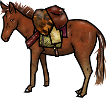 Pack Mule by WhoDrewThis