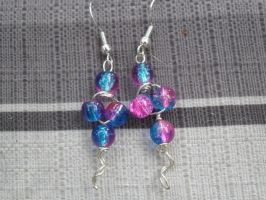 celestrial earrings by Darla-Illara