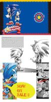 sonic the hedgehog 20th anthology. by bbpopococo