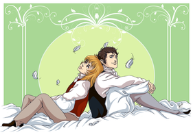 Dolly and Colin for Yulynh by RedPassion