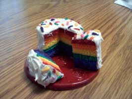 Rainbow Cake by Esca-Lutum