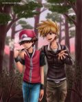 Antisocial Champion and his friend by Eeveetachi