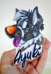 Ayuki badge by Grion