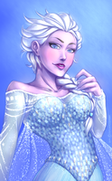 Elsa by SorceressDream