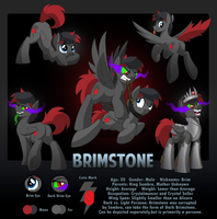 Brimstone Character Sheet by artwork-tee