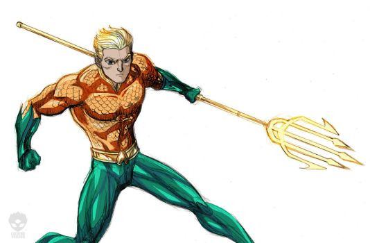 Aquaman by LucianoVecchio
