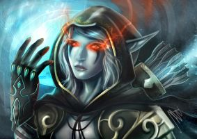 traxex the DROW by unrealsmoker