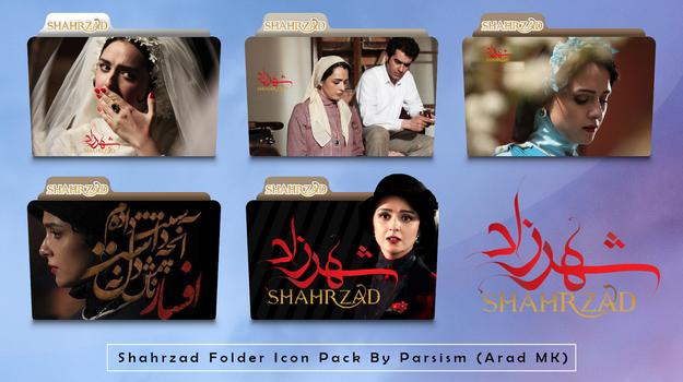 Shahrzad Folder Icon Pack by Parsism