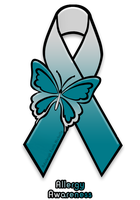 Allergy Awareness Ribbon by taysuffocation