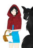 Red Riding Hood by Kikipoos