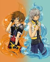 Sora and Riku by Kinky-chichi
