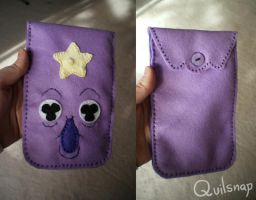 Lumpy Space Case by Quilsnap