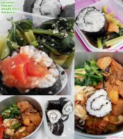 my vegan Sushi meal by Doll1988