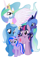 My Little Family by Inkwell-Pony