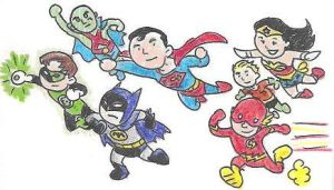 Little Justice League by Mbecks14