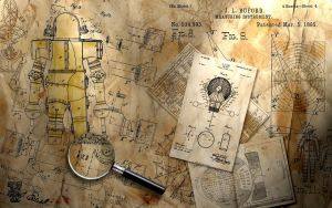 SteamPunk Wallpaper 1680X1050 by rkleeman