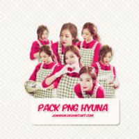 [150217] Pack PNG Hyuna - By ThaoPom by JenMoon