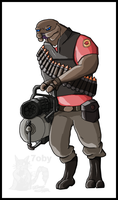 Team wtF 2 Sevvy Weapons Guy by Tobizord