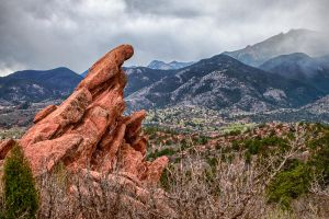 Garden of the Gods View by jbkalla