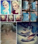 Elsa Frozen Cosplay WIP by Pinku-the-chan