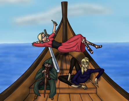 Pirates of Akithland by WanderTones