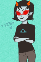 Terezi:be cute by LuckyLoser123