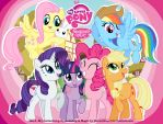 Wallpaper - My Little Pony by RavenEvert