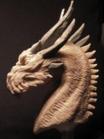 Smaug concept WIP #2 side view by Skull-Droid