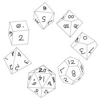 Free Dice Stock by Sanctuary-Of-Life